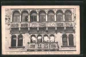 AK Belluno, Poggiuoli del Palazzo della R. Prefettura