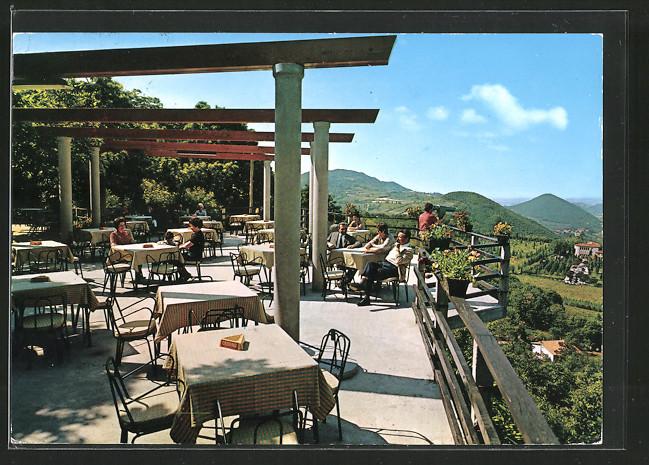 AK Torreglia, Panorama dalla Terrazza del Ristorante Rifugio Monte ...