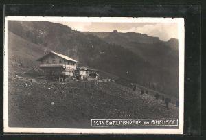 AK Eben am Achensee, Bärenbadalm mit Umgebung