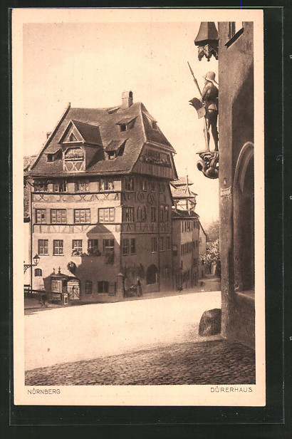 AK Nürnberg, Partie am Dürerhaus