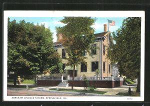 AK Springfield, IL, Abraham Lincoln's Home
