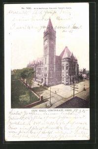 AK Cincinnati, OH, City Hall