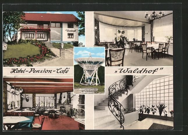 Ak Bad Münstereifel Hotel Pension Cafe Waldhof Aussen U