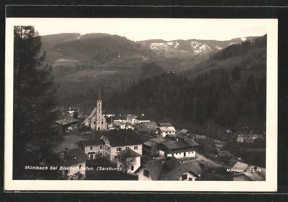 AK Mühlbach, Ortsansicht