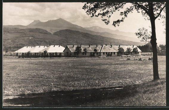 AK Grödig, Lehrlings-Erholungsheim mit Umgebung