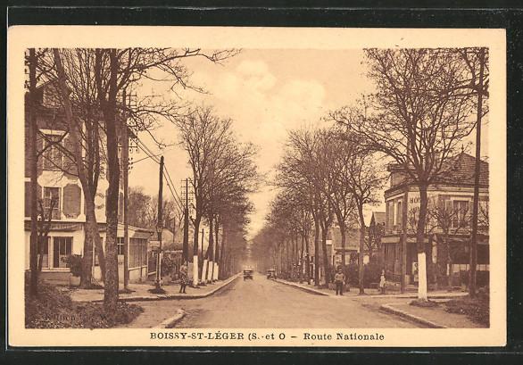 AK Boissy-Saint-Léger, Route Nationale