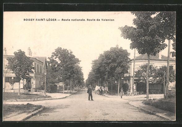 AK Boissy-Saint-Léger, Route nationale, Route de Valenton