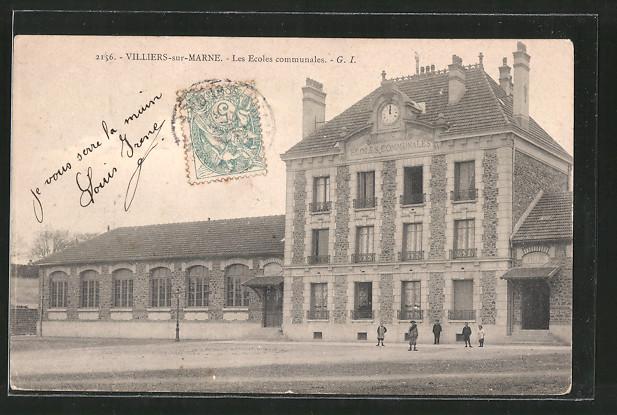 AK Villiers-sur-Marne, Les Ecoles communales