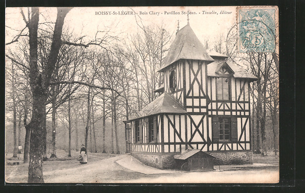 ak boissy st l ger bois clary rue royale le casino nr 6367645 oldthing ansichtskarten. Black Bedroom Furniture Sets. Home Design Ideas
