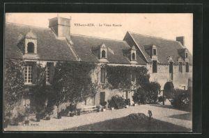 AK Ver-sur-Mer, le vieux manoir