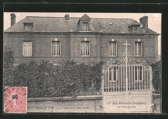 AK Le Mesnil-Durand, Le presbytére