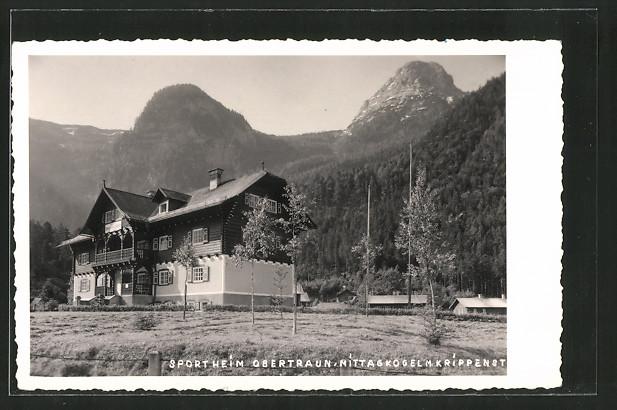 AK Obertraun, Blick zum Sportheim