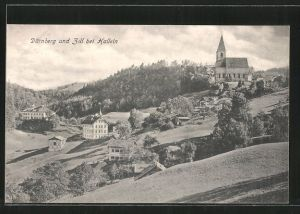 AK Dürnberg, Ortsansicht mit Zill