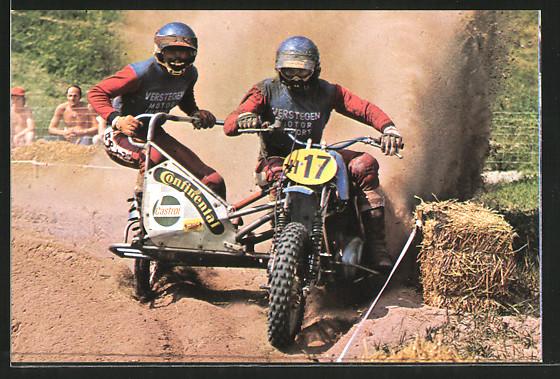 AK Motocross, Wil van der Laan und Marius van der Berg Motorrad-Seitenwagenrennen