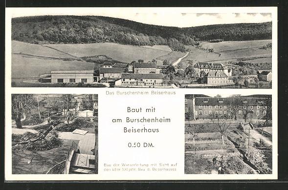 AK Knüllwald-Rengshausen, Burschenheim Beiserhaus
