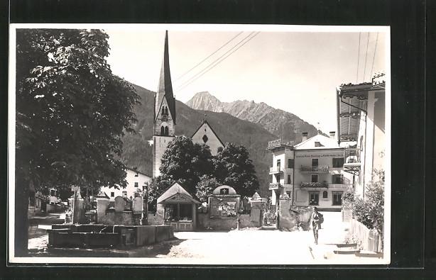 AK Mairhofen im Zillertal, Ortsansicht