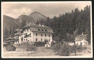 AK Aflenz, Sanatorium Hofacker