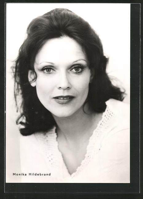 AK Schauspielerin Monika Hildebrand, DDR Nr. 6626463