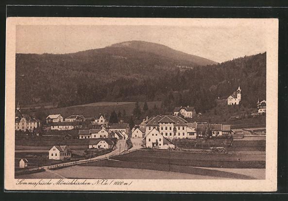 AK Mönichkirchen, Ortsansicht