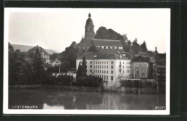 AK Laufenburg, Blick auf die Kirche