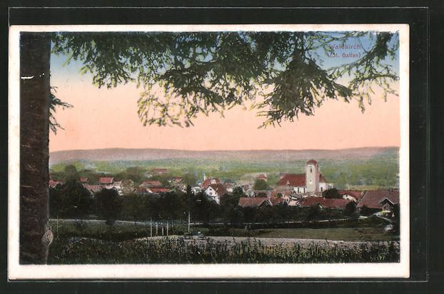 AK Waldkirch, Ortsansicht