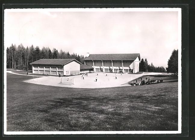 AK Magglingen, Turn- und Sporthalle mit Trockenplatz