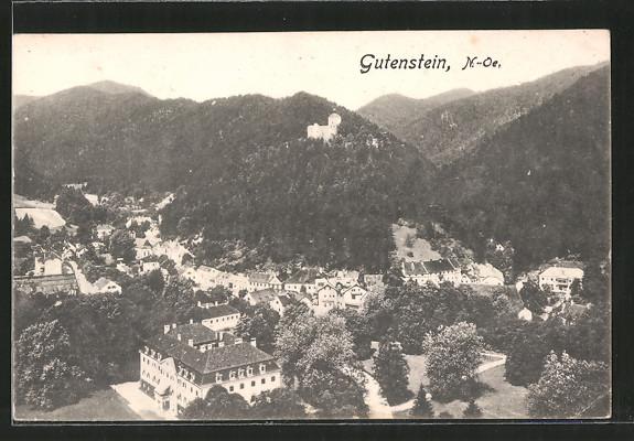 AK Gutenstein, Ortspanorama