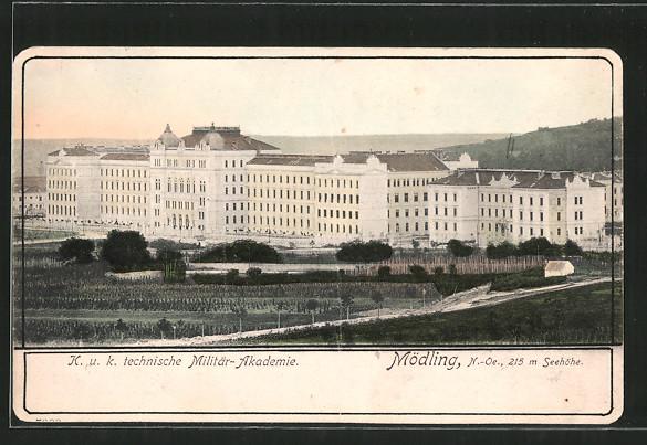 AK Mödling, K. & K. technische Militär-Akademie