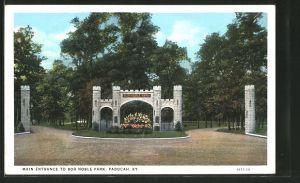 AK Paducah, KY, Main Entrance to Bob Noble Park