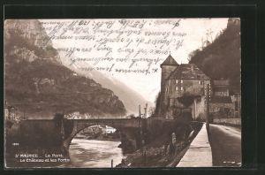 AK St. Maurice, Le Pont, Le Chateau et les Forts