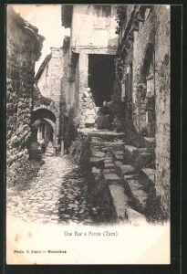 AK Penne-du-Tarn, une Rue, Strassenansicht