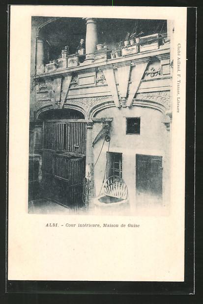 AK Albi, Cour intérieure, Maison de Guise Nr. 6657361 - oldthing ...