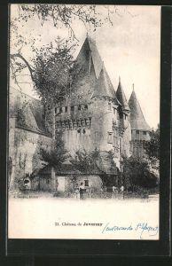 AK Javerzay, Chateau / Blick zum Schloss