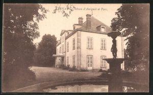 AK Vernay, château d'Amigné et parc