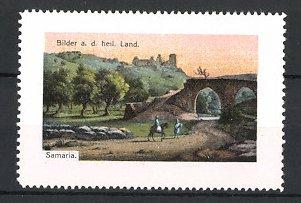 Reklamemarke Samaria, Bilder aus dem heiligen Land