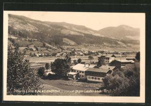 AK Lauterbach, Maria Luise Bad und Landhaus gegen die Ortschaft