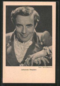 AK Schauspieler Johannes Heesters, Porträt