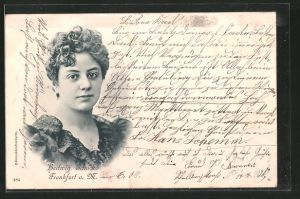 AK Portrait der Schauspielerin Hedwig Schacko
