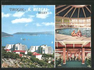 AK Trogir, Innen- und Aussenansicht vom Hotel Medena