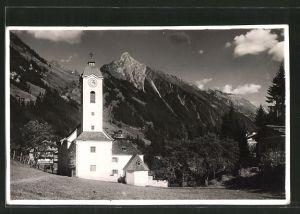 AK Brandberg, Blick auf Kirche