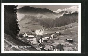 AK Auffach i. Wildschönau, Ortsansicht gegen Schatzberg