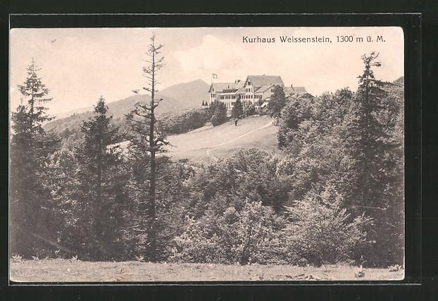 AK Weissenstein, Blick zum Kurhaus