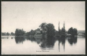 AK Mauensee, Blick zum Schloss Mauensee