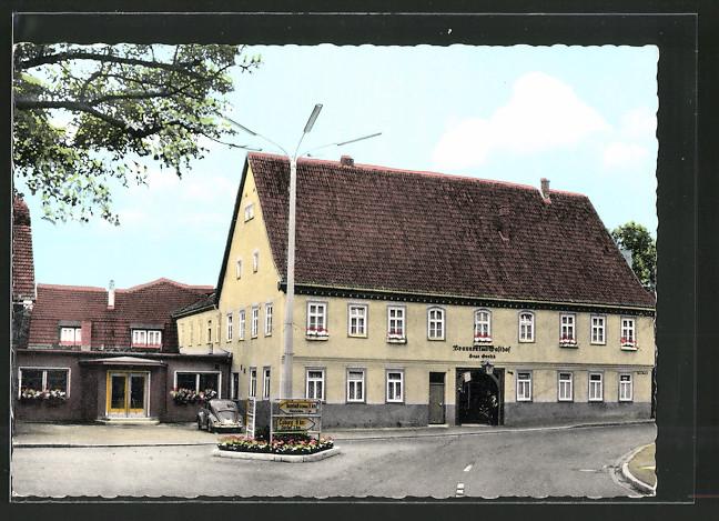 AK Oeslau, Brauerei Gasthof v. H. Grosch