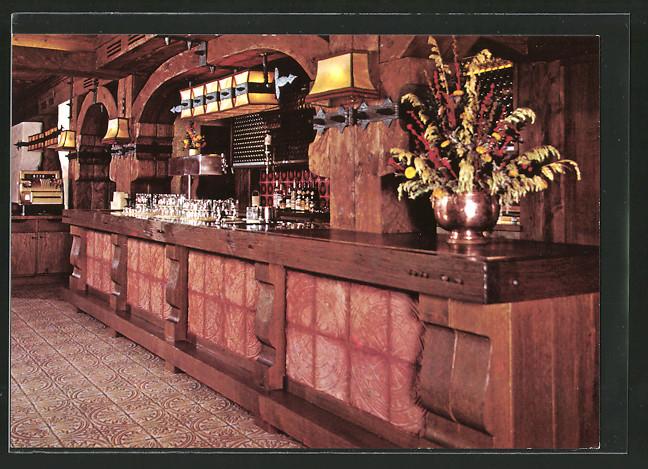 AK Rödental, Brauerei Gasthof Hotel Grosch, Oeslauer Strasse 115, Innenansicht