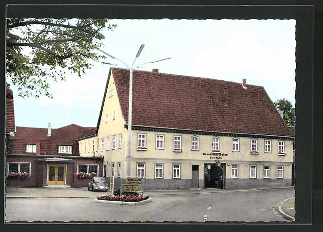 AK Oeslau, Brauerei Gasthof Hugo Grosch