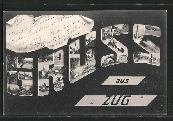 AK Zug, Schriftzug