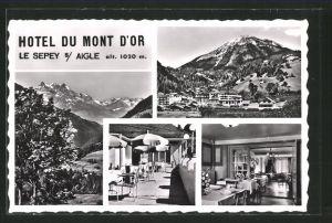AK Le Sepey s/ Aigle, Hotel du Mont d'Or