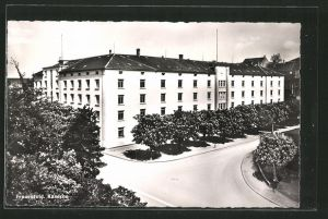 AK Frauenfeld, Strasse an der Kaserne