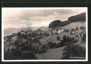 AK Walzenhausen, Fernsicht der Ortschaft